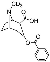 Picture of Benzoylecgonine-D3.hydrate