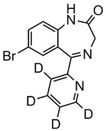 Picture of Bromazepam-D4