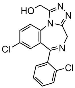Picture of alpha-Hydroxytriazolam