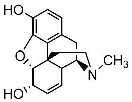 Bild von Morphine.HCl (anhydride or trihydrate)